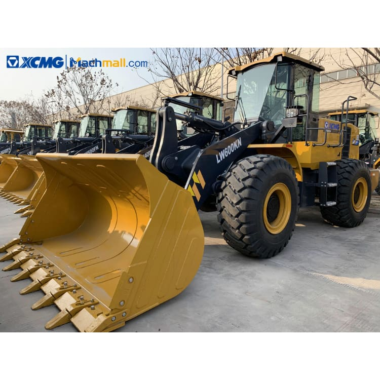 LW600KN front loader for sale | XCMG 178kw 4.5m3 6 ton wheel loader price
