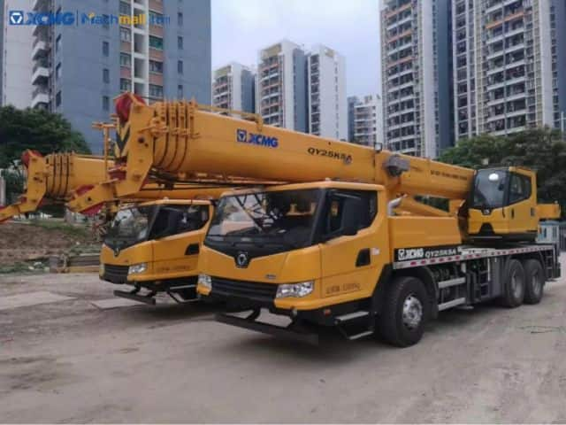 XCMG 25t 53m truck cranes QY25K5A for sale