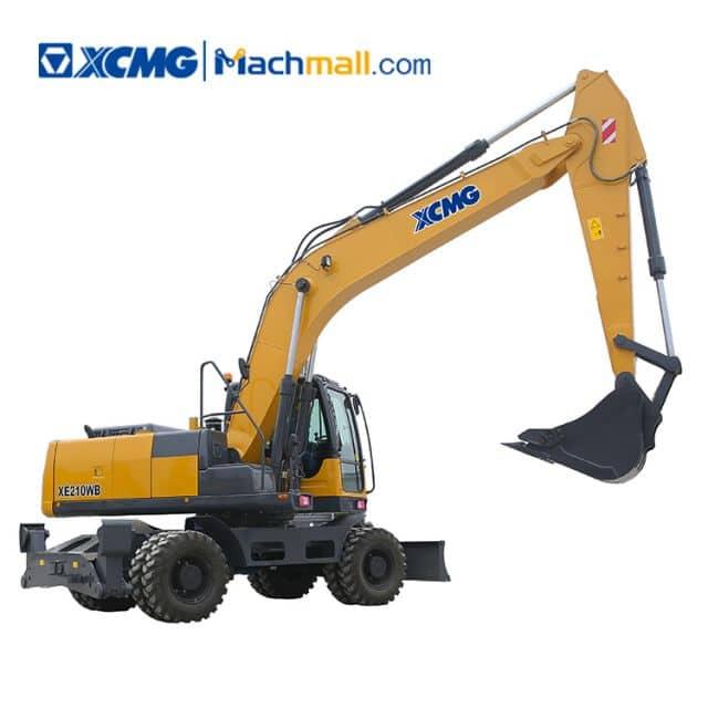 XCMG 20 ton wheel excavator XE210W with CE price