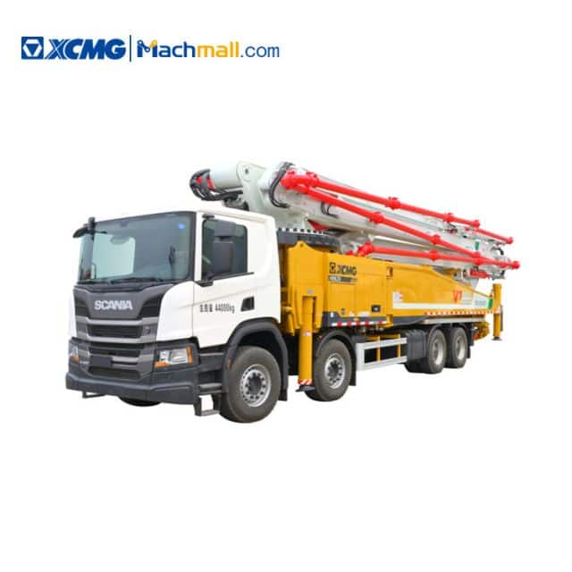 XCMG schwing concrete pumps HB62V with Scania Chassis price