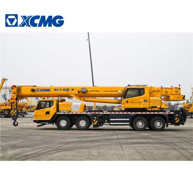 XCMG Official Manufacturer XCT50_M New 50 Ton Mobile Truck Crane Price
