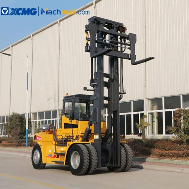 XCMG diesel forklift XLF180 6635mm mast height for warehouse sale