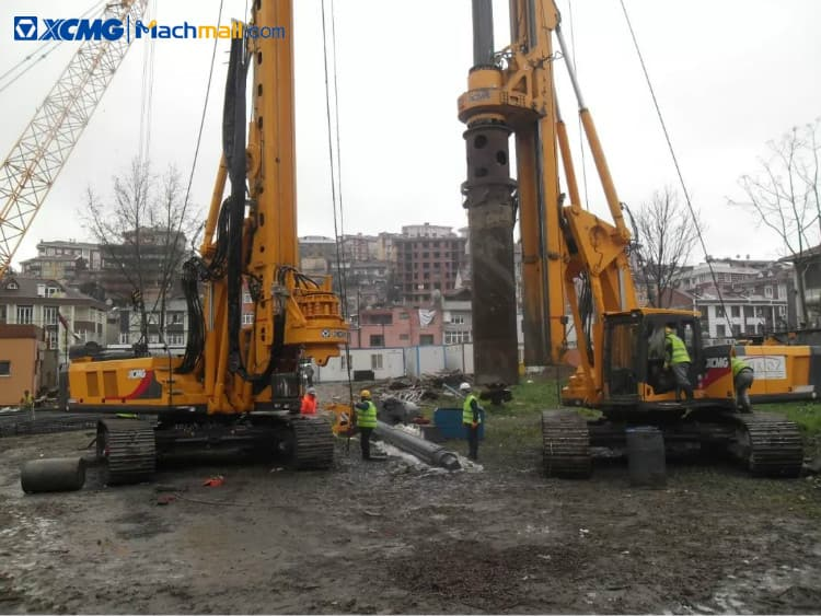 XCMG XR150DIII foundation drilling equipment 160kN 56m rotary drilling rig for sale