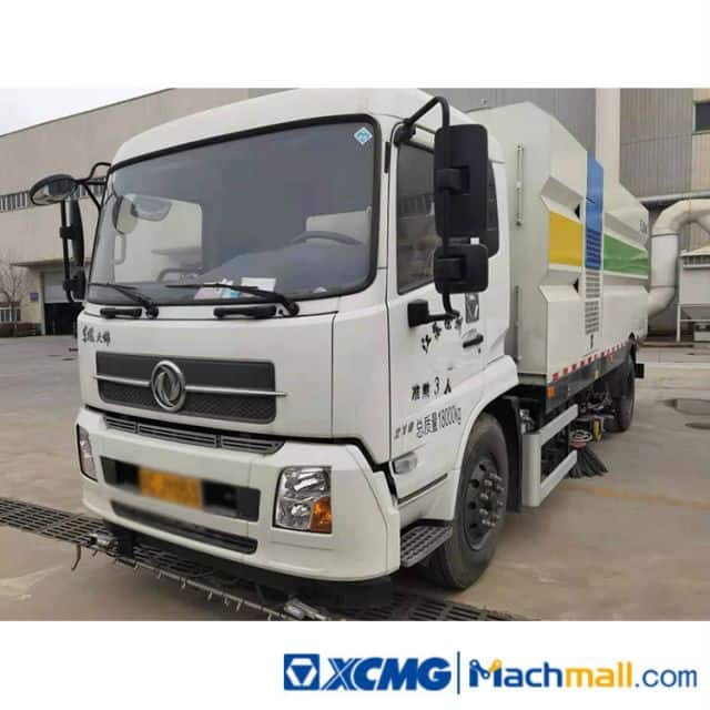 XCMG Used 8ton 5000L XZJ5181TSLD5 Sprinkler Sweeper Truck For Sale