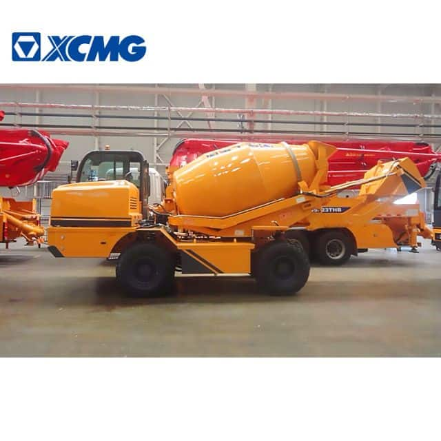 XCMG Manufacturer SLM4 Heavy Duty Truck Cement Mixer with Pump Price