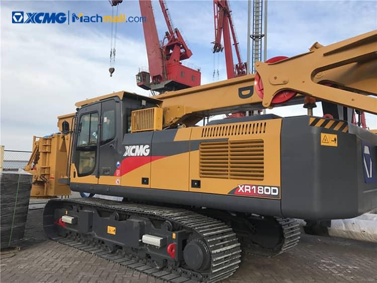 180kN XCMG crawler hydraulic rotary drilling rig XR150DIII for sale
