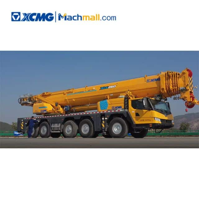 XCMG official 260 ton new mobile all terrain Crane XCA260 price