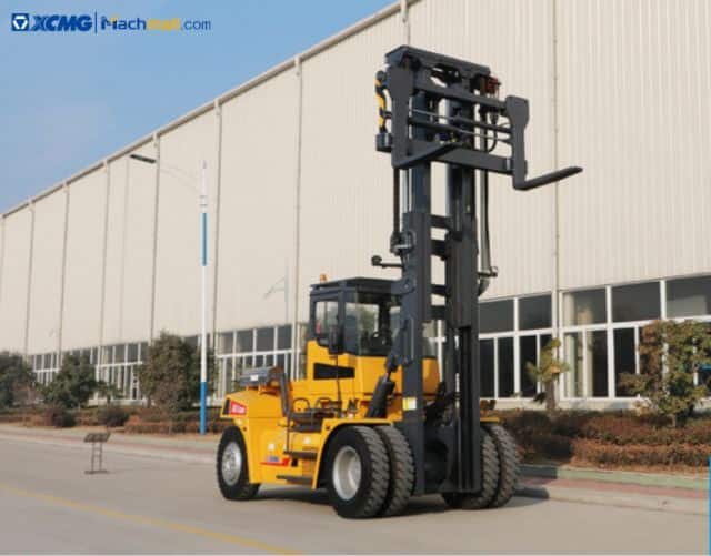 XCMG 15 ton container forklift  XCF1612K Port Equipment For Sale