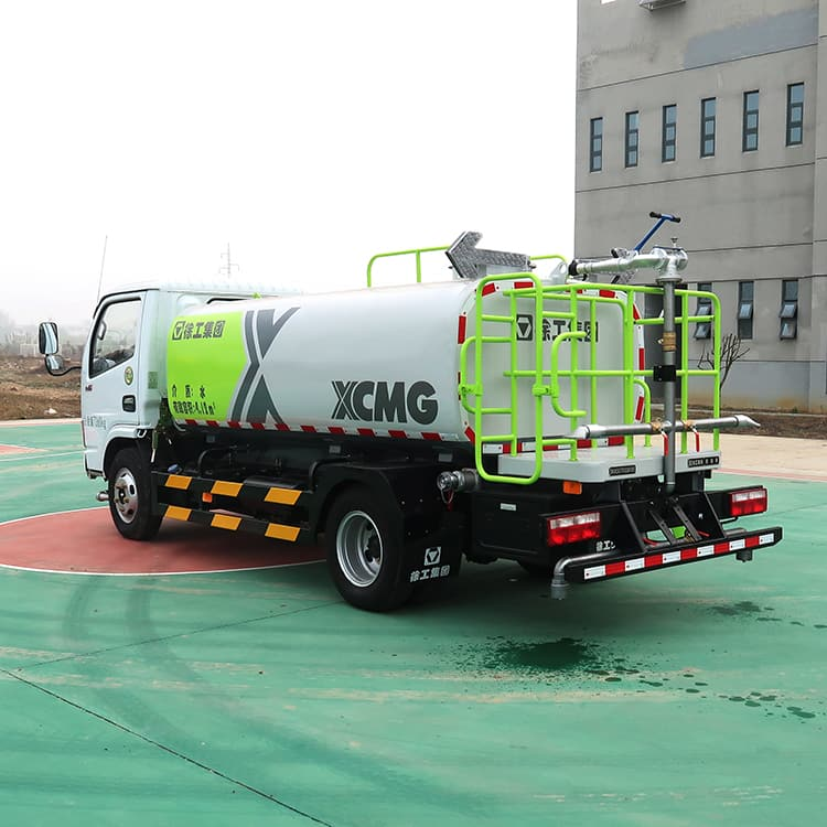 XCMG 4m3 XZJ5070GQXD5 small road cleaning truck machine for sale