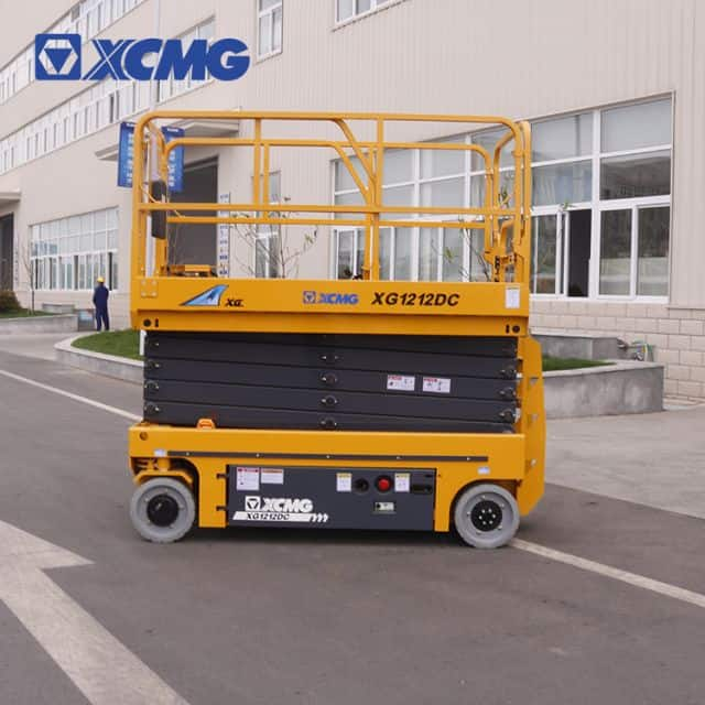 XCMG 12m electric scissor lift work platform XG1212DC for sale