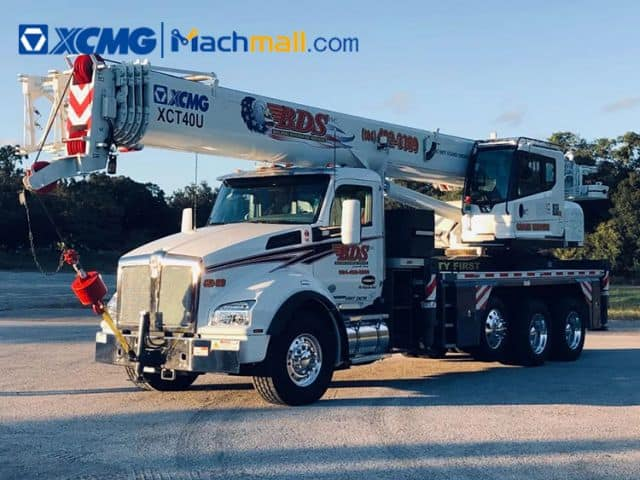 XCMG 40t truck crane XCT40U with US DOT certification price