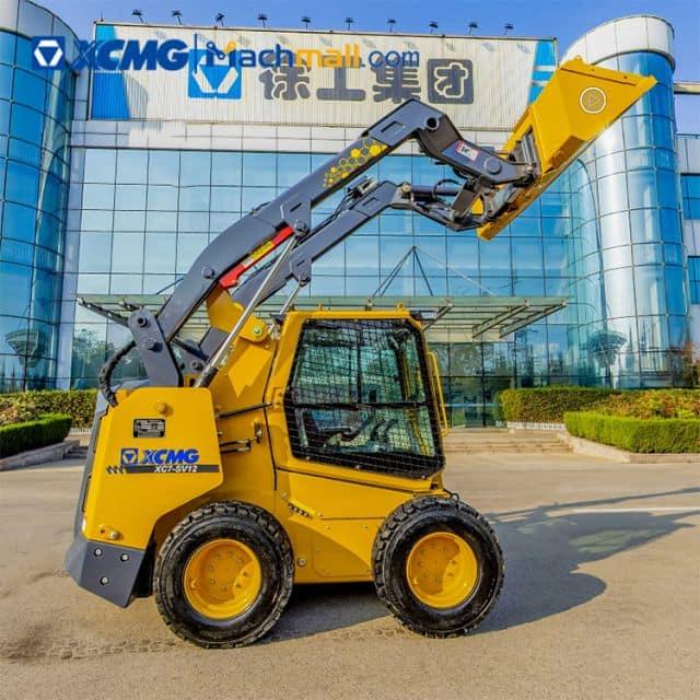XCMG 1 ton mini new skidsteer loader XC7-SV12 for sale