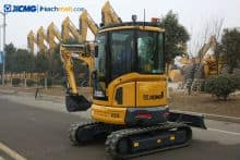 XCMG 3 ton small farm excavator XE35E / XE35U price