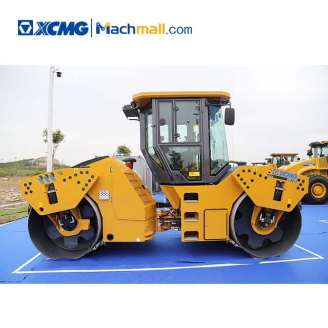 XCMG double drum vibration roller 13 ton XD133 with pdf catalog for sale