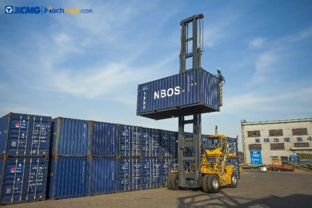 XCMG 9 Ton XCH908E Eletric Empty container handler Price