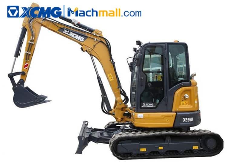 XCMG XE55U 5 ton small hydraulic excavator price