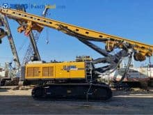 XCMG 240kn 70m Hydraulic Dual Rotary Drilling Rig Bored Pile Machine XR240E price