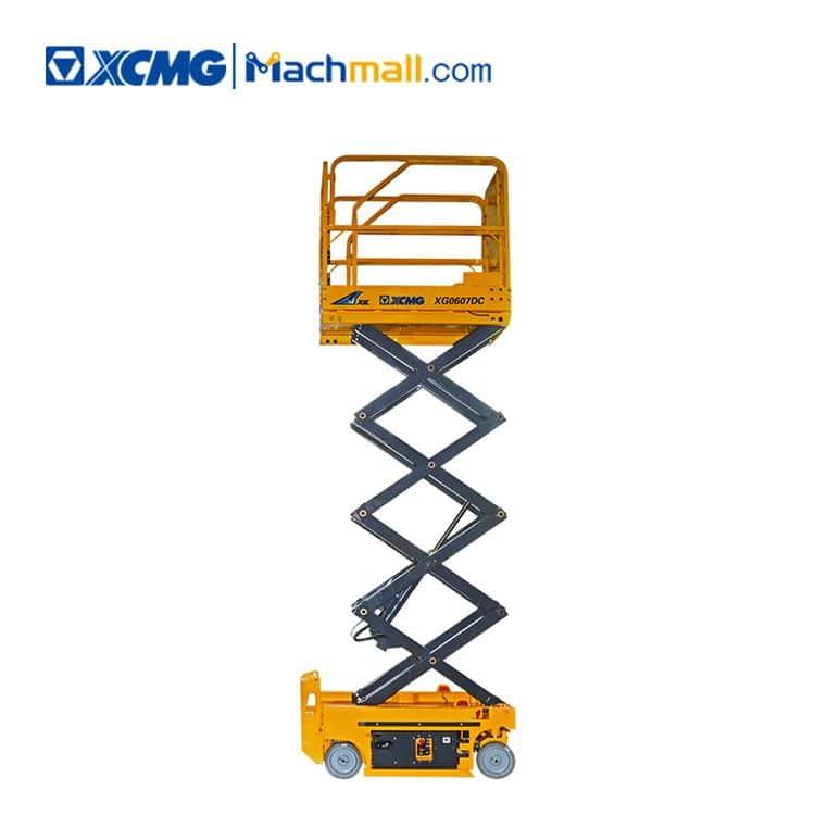 XCMG official XG0807DC 8m mini hydraulic scissor lift price philippines