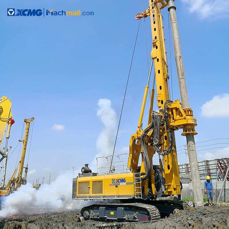 XCMG construction piling machine XR220D 220kn 50m rotary drilling rig for sale