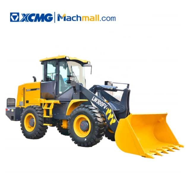 XCMG official 3 ton small payloader LW300FV price