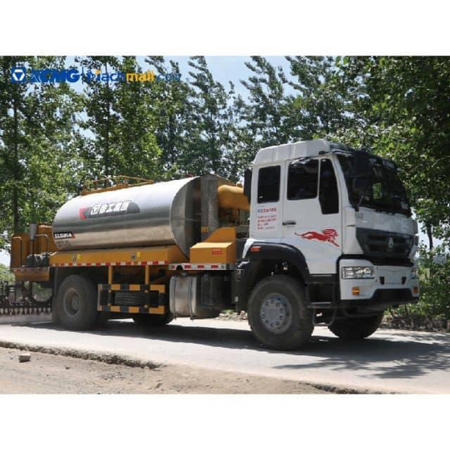 XCMG 13 m3 trailer asphalt oil distributor truck for sale