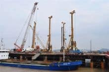 XCMG XR150D 150kn Small Rotary Drilling Rig Piling Machine