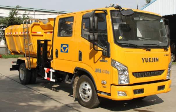 XCMG XQY705 Hydraulic lifter garbage truck