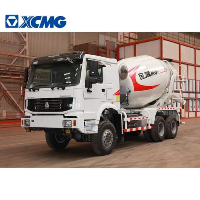 XCMG Factory Concrete Cement Mixer Truck G08K New Cement Truck Mixer Price
