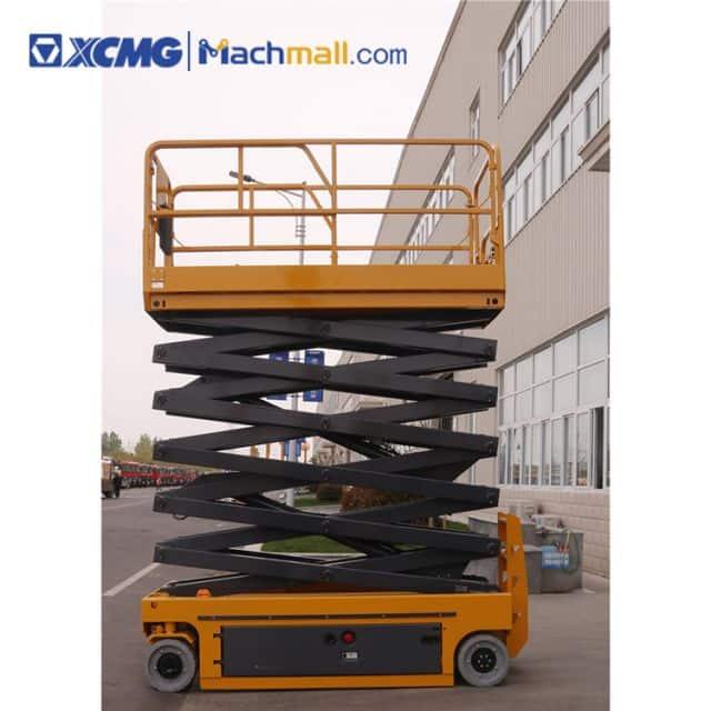 10m XCMG electric scissor lift platform XG1012DC for sale