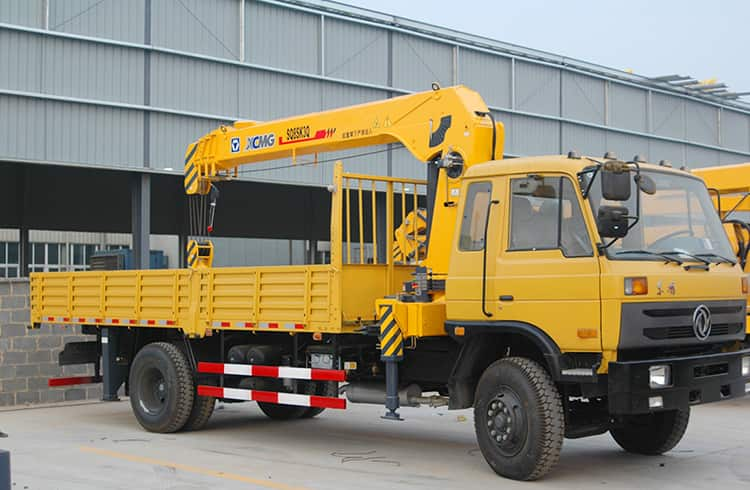 XCMG Factory 8 T Hydraulic Truck Mounted Pickup Crane SQ8SK3Q with Sinotruk Chassis for Sale