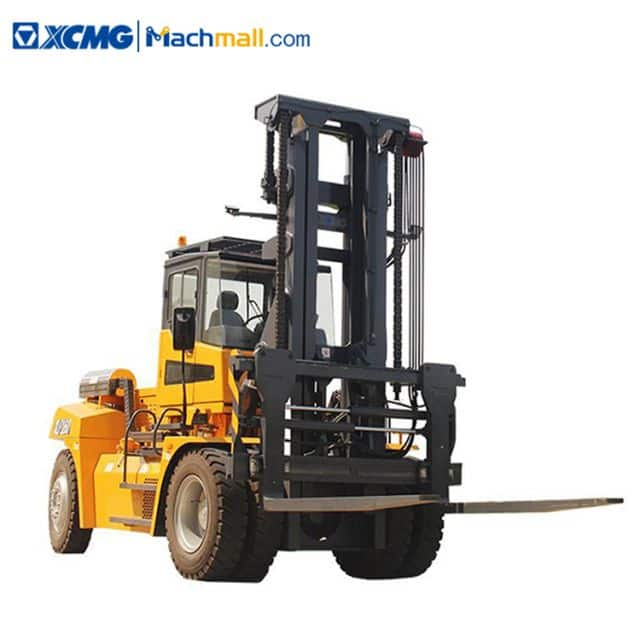 XCMG XLF160 16 ton capacity diesel counterbalance forklift 5m lift height price