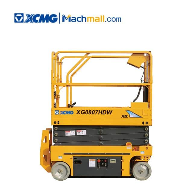 8m hydraulic scissor platform XG0807HDW XCMG aerial work platform price