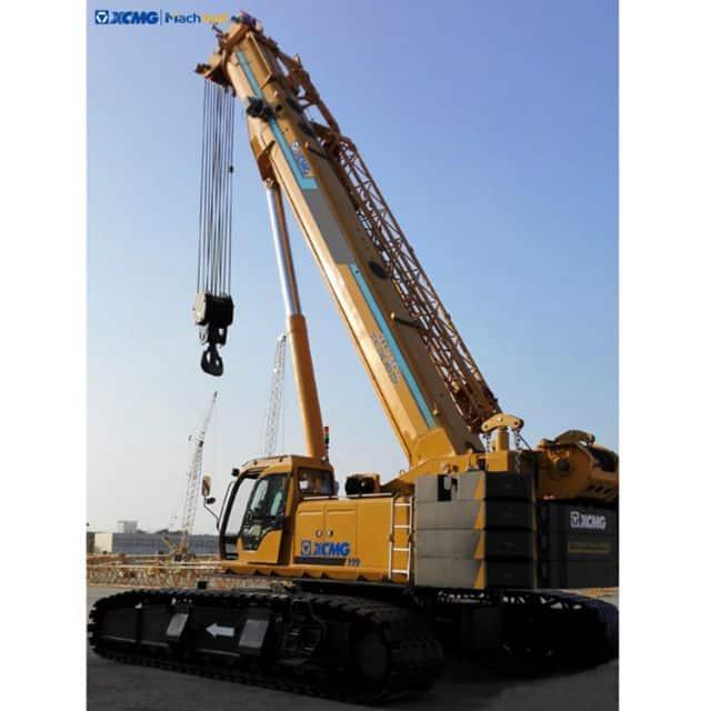 XCMG Construction machinery XGC55T 50 ton mobile telescopic crawler crane for sale