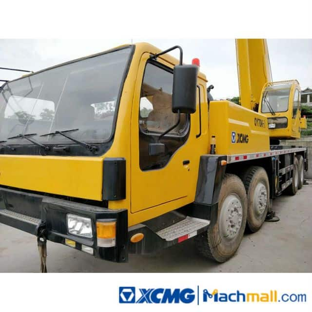 XCMG 70 Ton Used Hydraulic Mobile Truck Crane QY70K For Sale