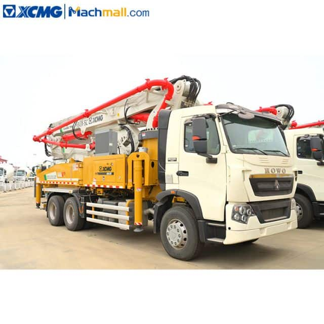 XCMG concrete pump machine diesel with Sinotruk HOWO chassis HB43V sale in Vietnam