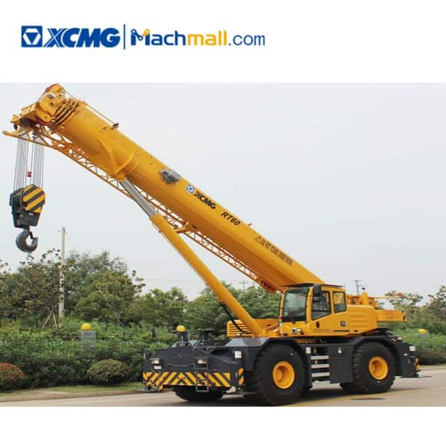 XCMG 60t rough terrain crane RT60 for sale