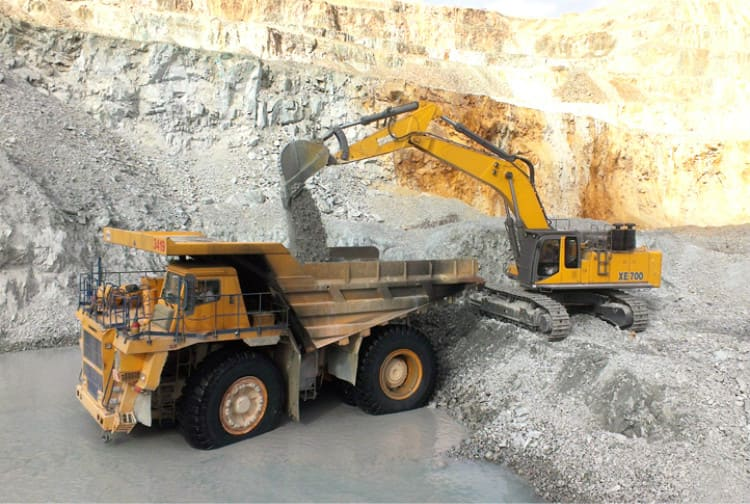 XCMG 90 ton Truck Dump XDM100 Machine Manufacture Dump Truck For Sale