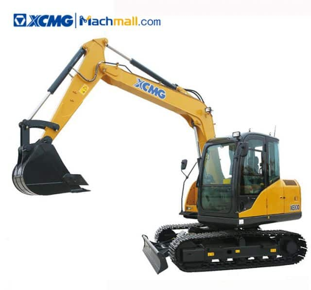 XCMG Official XE80D 8 ton Small Crawler Excavator Machine With Pdf Price Philippines