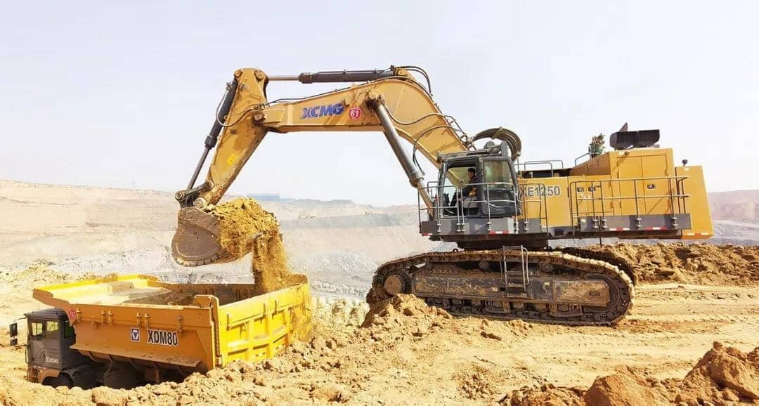 XCMG Official 120ton Mining Excavator XE1200 for sale