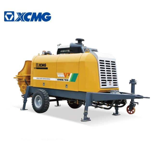 XCMG Factory HBT5008V Small Portable Cement Pumps for Sale