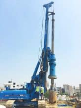 XCMG XR150D New Hydraulic Crawler Rotary Drilling Rig for sale