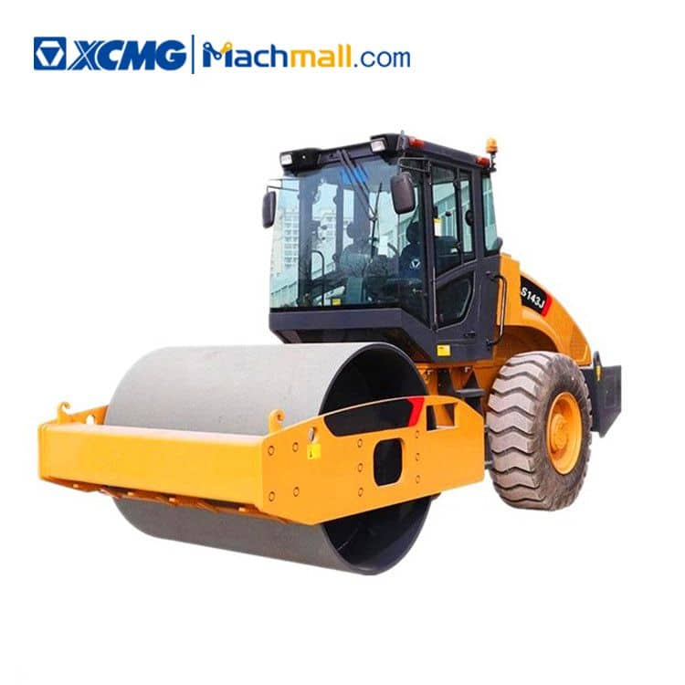 XCMG official 14 ton road roller XS143J price