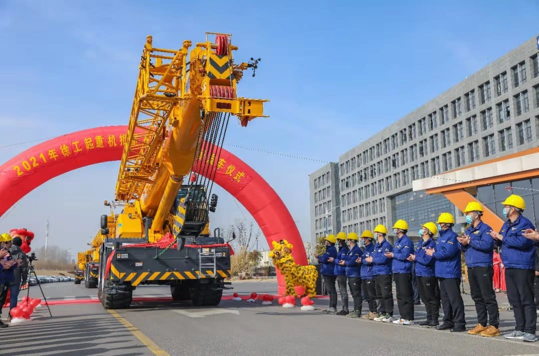XCMG Manufacturer QY70KC China Brand New 70 Ton Mobile Truck Crane Price