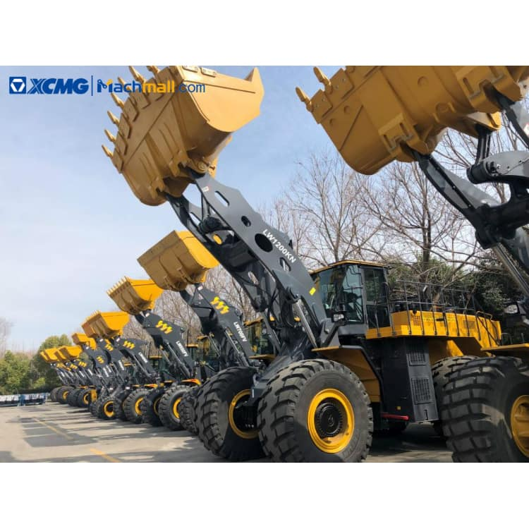 LW1200KN wheel loader for sale   XCMG 12 ton 6.5m3 418kw heavy loader price