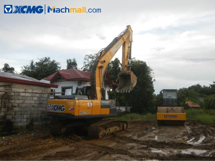 XCMG XE215C 20 ton excavator machine with catalog PDF for sale