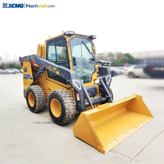Chinese mini skid steer loader with Multifunction attachments for USA