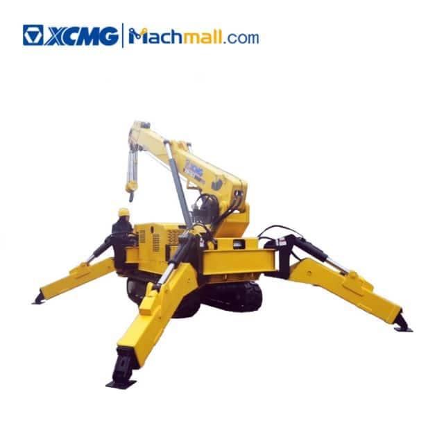 XCMG 6 ton mini crawler spider cranes ZQS125-5 price