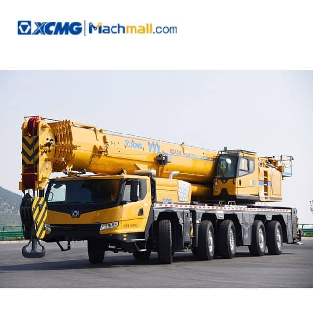 180 ton XCMG mobile all terrain truck crane XCA180 price