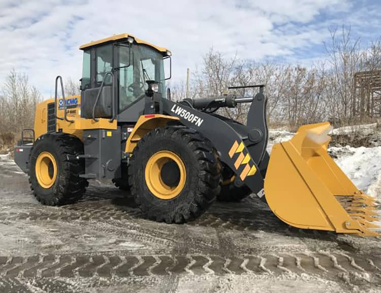 XCMG Official LW500FN 5 ton Front Loader With Pdf catalog