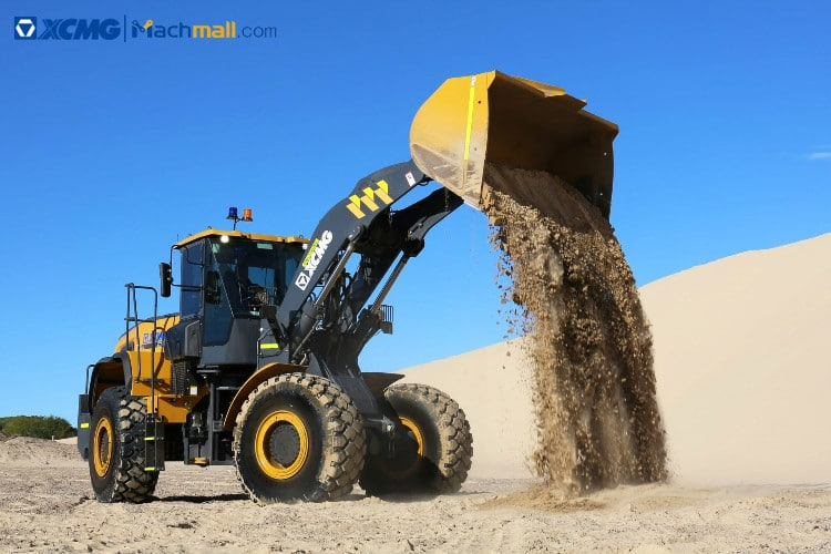 XC958 USA loader for sale | XCMG 5 ton wheel loader with Cummins diesel engine